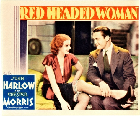 Red Headed Woman (1932) Jean Harlow. lobby card