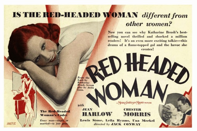 Red Headed Woman (1932) Jean Harlow