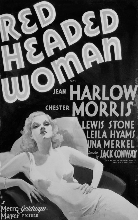 Red Headed Woman (1932) poster