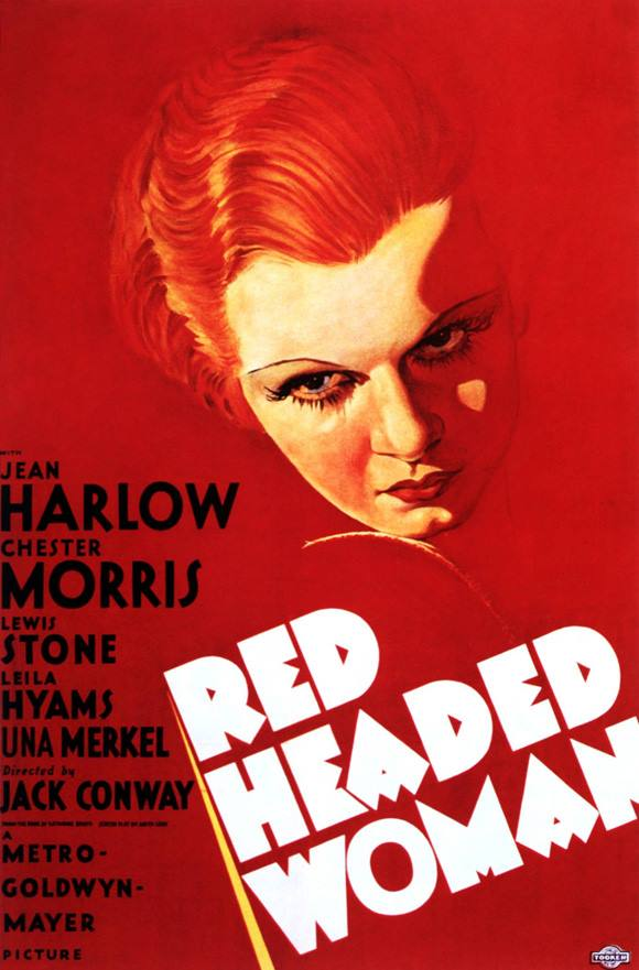 red headed woman poster