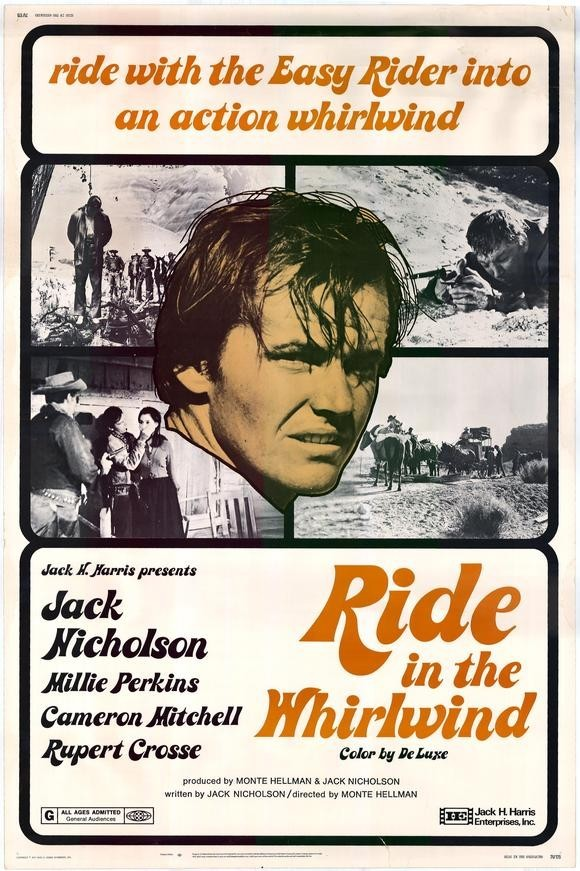 RIDE IN THE WHIRLWIND (1966) advertisement