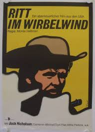 RIDE IN THE WHIRLWIND (1966) German movie poster