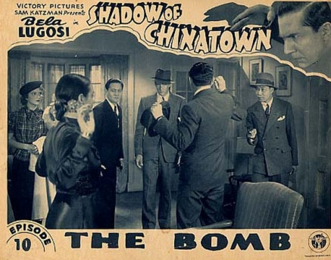 SHADOW OF CHINATOWN (1936) lobby card. Bela Lugosi.