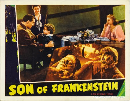 Son Of Frankenstein (1939) lobby card
