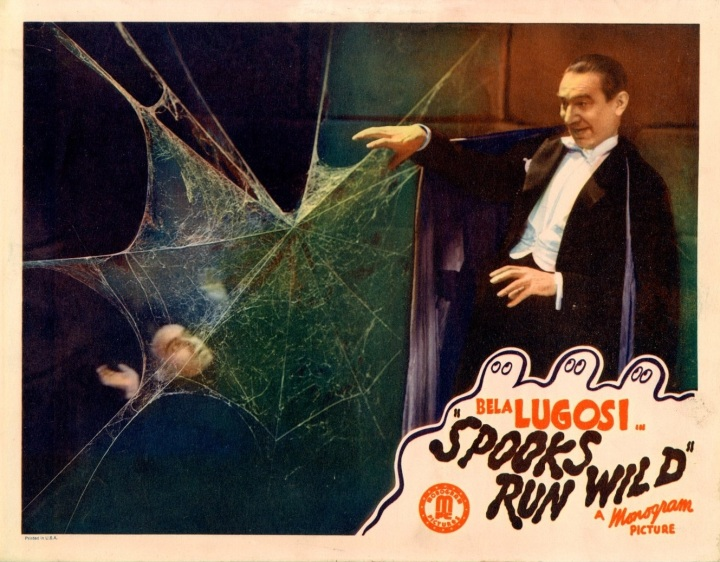 SPOOKS RUN WILD (1941) Bela Lugosi. lobby card
