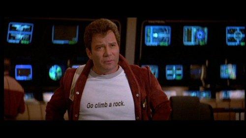 Star Trek - The Final Frontier. William Shatner