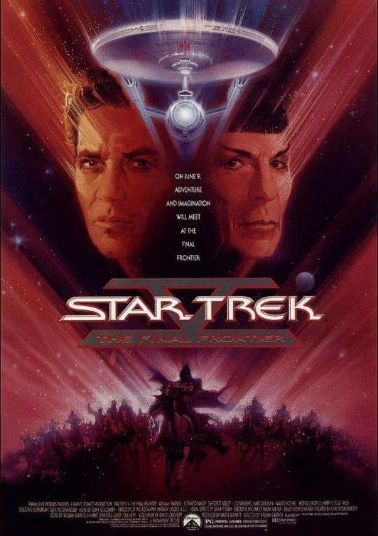 STAR TREK V- THE FINAL FRONTIER (1989) poster