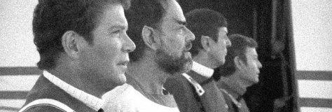 STAR TREK V- THE FINAL FRONTIER (1989) William Shatner, Laurence Luckenbill, Leonard Nimoy, De Forest Kelly