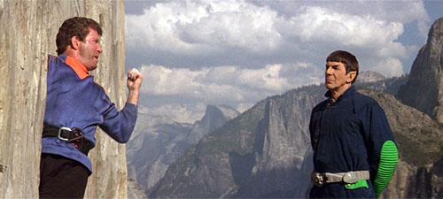 STAR TREK V- THE FINAL FRONTIER (1989) William Shatner, Leonard Nimoy