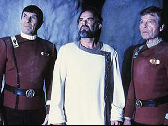 STAR TREK V- THE FINAL FRONTIER (1989)Leonard Nimoy, Laurence Luckenbill, De Forest Kelly,