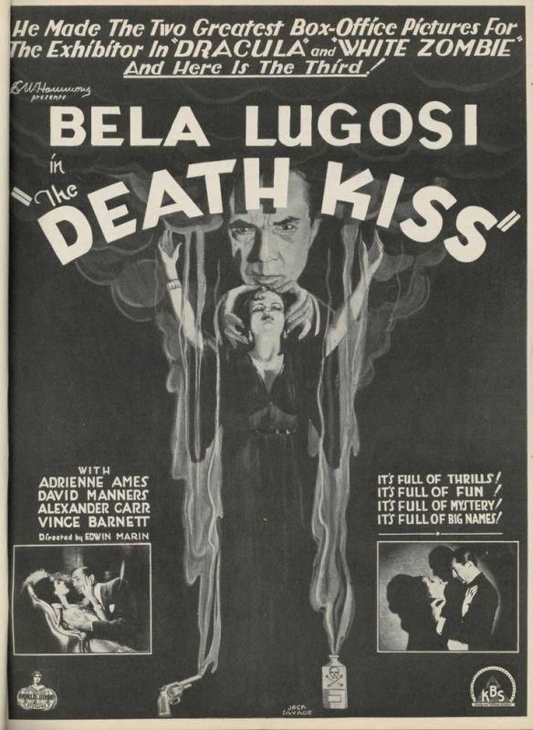 THE DEATH KISS (1932) Bela Lugosi