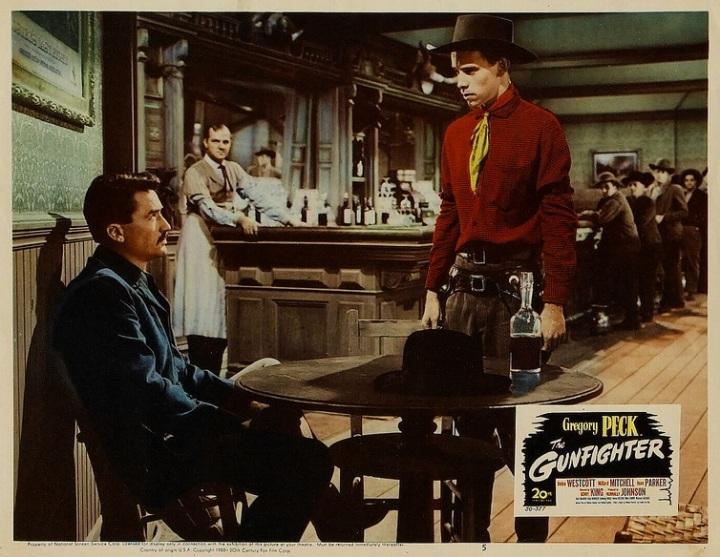 The Gunfighter (1950 Dir. Henry King) lobby card