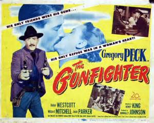 The Gunfighter (1950) theatrical poster