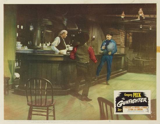 The Gunfighter (1950) lobby card