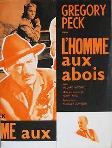 The Gunfighter (Dir. Henry King) French poster