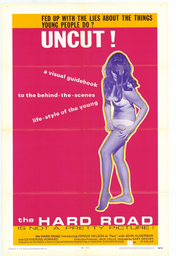 The Hard Road (1970) theatrical poster
