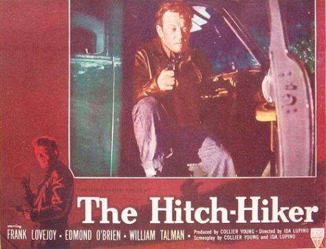 The Hitch-Hiker (1953 Ida Lupino) lobby card