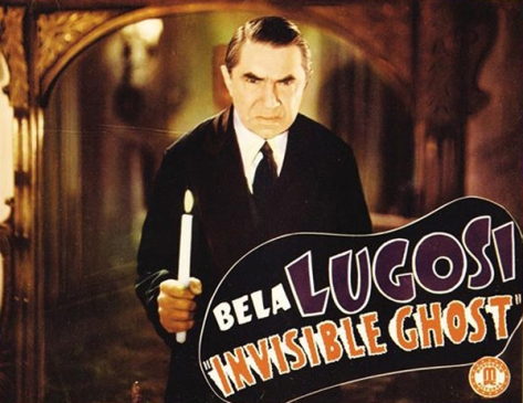 THE INVISIBLE GHOST 1941 lobby card. Bela Lugosi