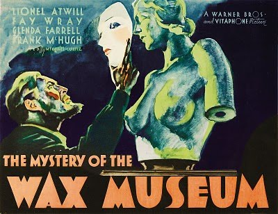 The Mystery Of The Wax Museum (1933 Curtiz) Lionel Atwill, Fay Wray
