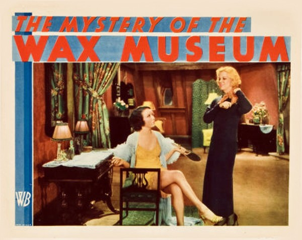 The Mystery Of The Wax Museum (1933) Fay Wray, Glenda Farrell