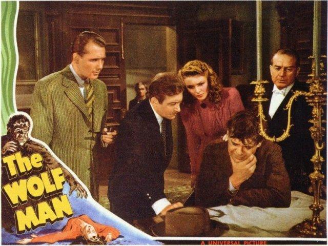 THE WOLFMAN 1941 lobby card.