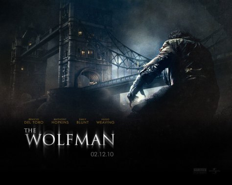 THE WOLFMAN 2010 poster