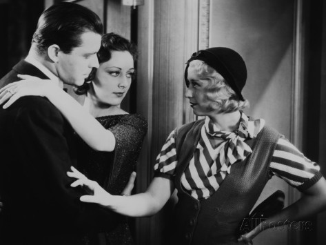 Three On A Match, Lyle Talbot, Ann Dvorak, Joan Blondell, 1932