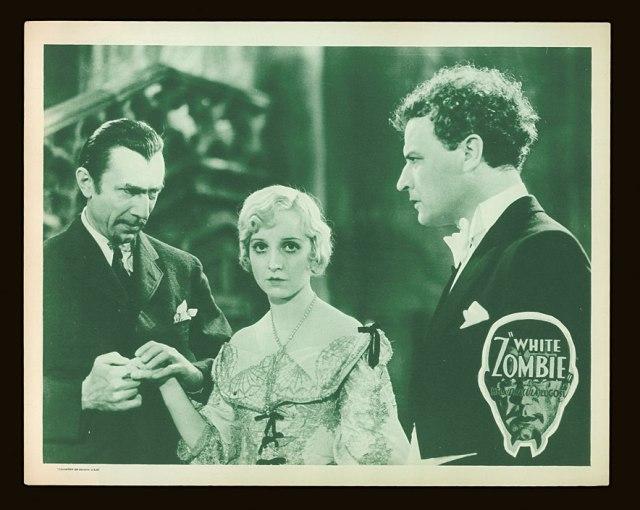 WHITE ZOMBIE (1932) US LOBBY CARD. BELA LUGOSI