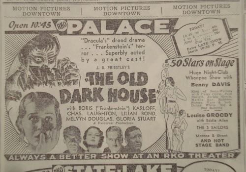 AD The Old Dark House (1932)