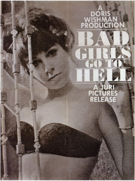 BAD GIRLS GO TO HELL (1965) theatrical release poster