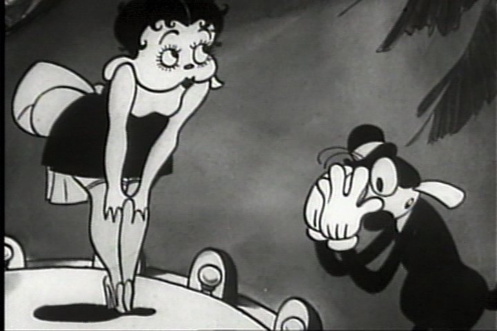 Betty Boop Dizzy Dishes