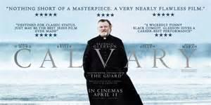 Calvary (2014 John Michael McDonagh) Brendan Gleeson. theatrical poster.