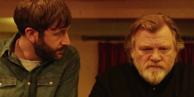 Calvary (2014 John Michael McDonagh) Chris O' Dowd, Brendan Gleeson