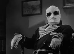 Claude Rains in James Whale's The Invisible Man