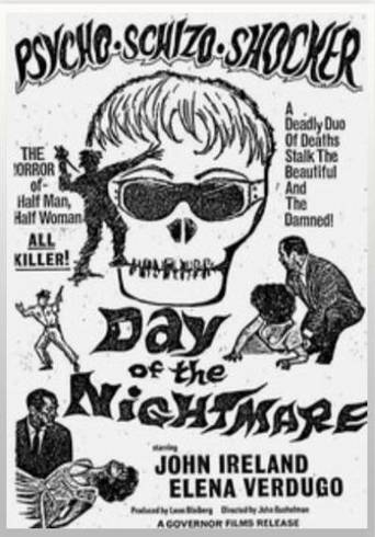 DAY OF THE NIGHTMARE (1965) poster