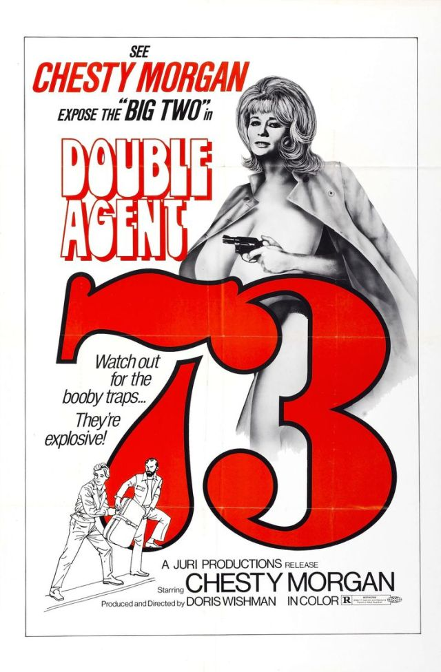 Double Agent 73 (1974) Chesty Morgan poster