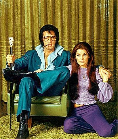 Elvis and Priscilla Presley