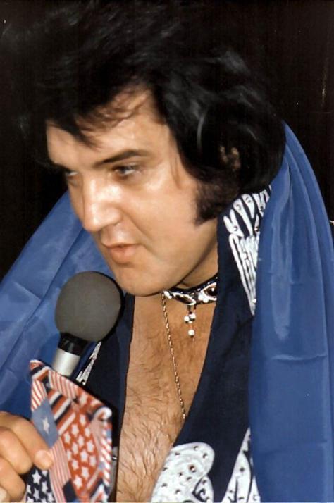 Elvis Presley mid 1970s