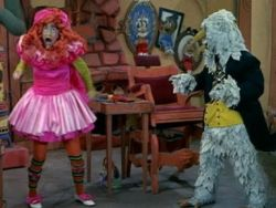 H.R. PUFNSTUF Witchiepoo & Dr. Blinky