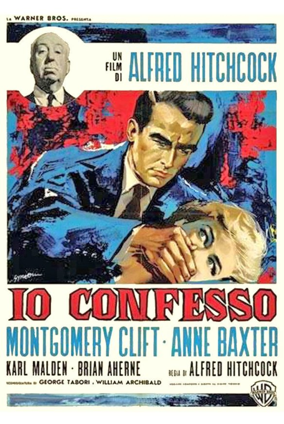 I Confess (1953 Alfred Hitchcock) theatrical poster.