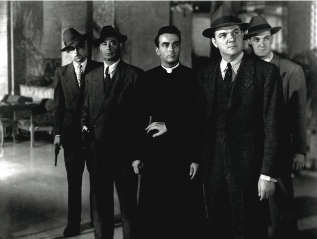 I Confess (1953 Hitchcock) Montgomery Clift, Karl Malden