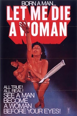 LET ME DIE A WOMAN (1978) theatrical poster