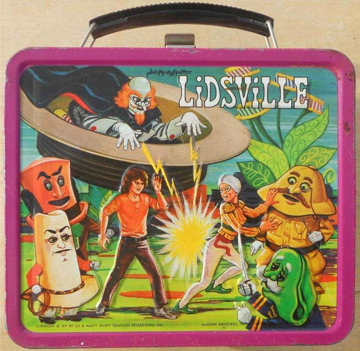 Lidsville lunchobx