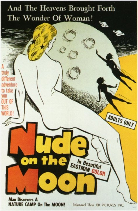 Nude On The Moon (1962 Doris Wishman) theatrical release poster
