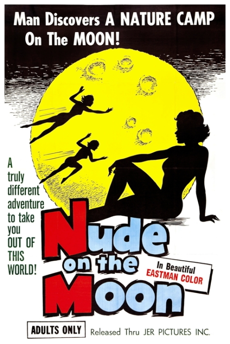 Nude On The Moon 1962 poster