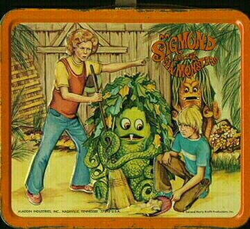 Sigmund And The Sea Monster lunchbox