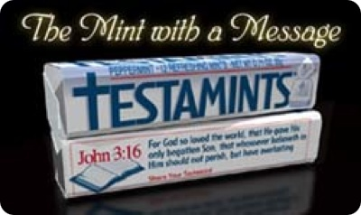 TESTAMINTS- THE MINT WITH A MESSAGE