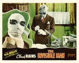 THE INVISIBLE MAN (1933 James Whale) lobby card