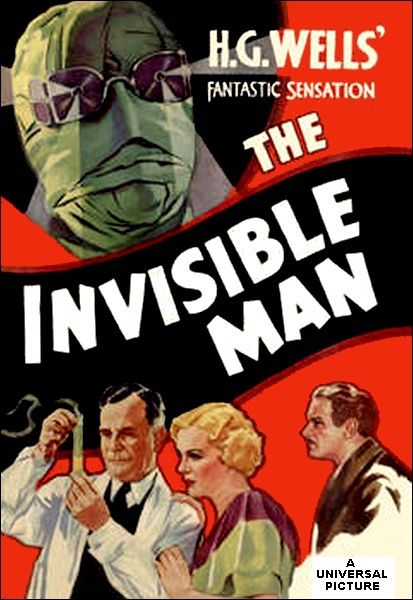 THE INVISIBLE MAN (1933 James Whale) poster