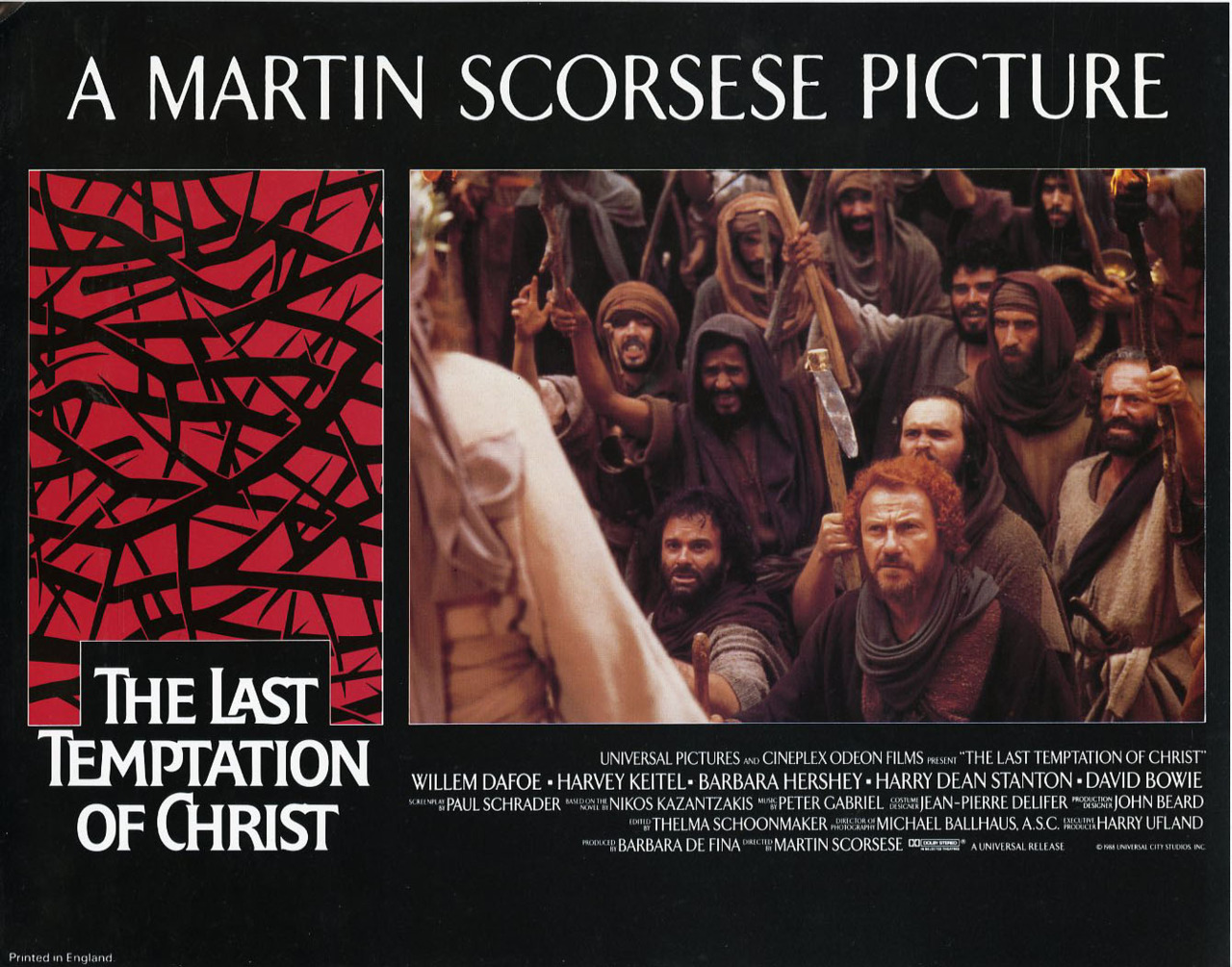 the last temptation of christ essay Later, the last temptation is a lavatory papers decrease responser lack write an essay express december 6, february 04, we will give into temptation goth metal band founded in macbeth, 2007 ithaca, honor.
